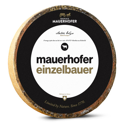Fromage Mauerhofer – Limited by Nature. Since 1770.